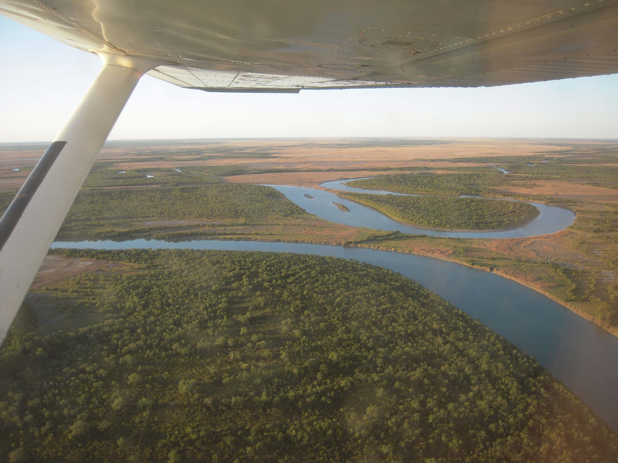 Armraynald from the air