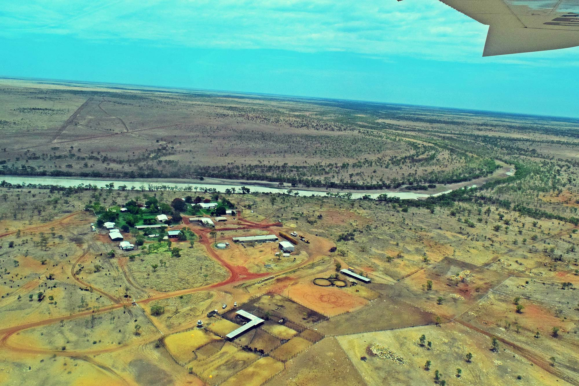 Rocklands from the air